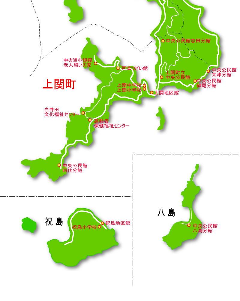 上関町防災マップ