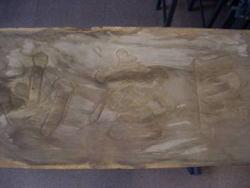 木造扁額「巨壑山」
