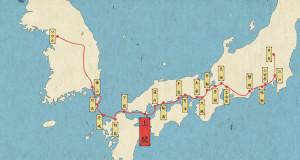 朝鮮通信使の旅路