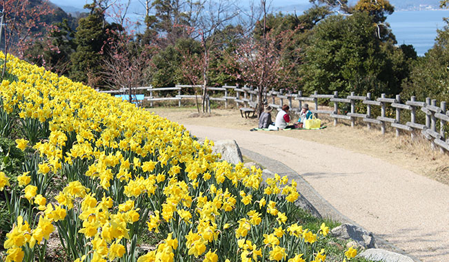 城山歴史公園(上関城跡)