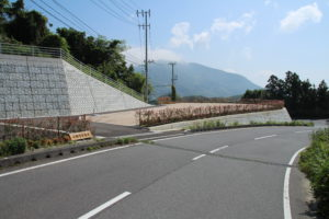 上関町営墓苑の現地写真