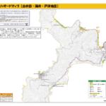 白井田・蒲井・戸津 津波ハザードマップ